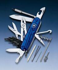 SWISS ARMY KNIFE VICTORINOX CYBERTOOL M / CT 34 - Translucent Sapphire 1.7725.T2