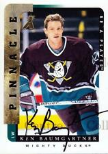 1996-97 Be A Player Auto #32 Ken Baumgartner