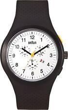 Braun Men's BN0115WHBKBKG Sports Chronograph Analog Display Quartz Black Watch