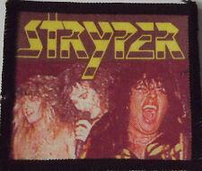 STRYPER Vintage 80`s/90`s Printed Sew On Patch