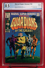 MARVEL SUPER HEROES #18 PGX 8.5 VF+ Very Fine Plus - FIRST GOTG!!! +CGC!!!
