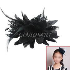 Fleur Plume Perle Corsage De Poignet Broche Pince Cheveux Nuptial Fascinateur