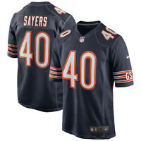 New 2020 NFL Nike Chicago Bears Gale Sayers Game Retired Player Edition Jersey