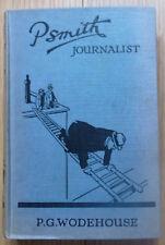P.G. Wodehouse PSmith Journalist Hardback Edition 1941