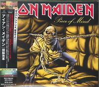 IRON MAIDEN-PIECE OF MIND-JAPAN CD E25