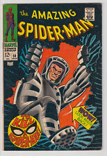 AMAZING SPIDER-MAN # 58 KA-ZAR 1968 VERY GOOD+plus 4.5
