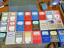 24 Decks(2 Colors )Playing Cards from 12 Las Vegas Casino's .