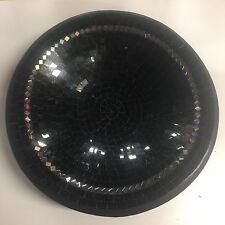 BOWL Plate decorative display dish modern Mosaic glass Handmade Large decor