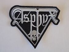 ASPHYX DEATH METAL EMBROIDERED PATCH
