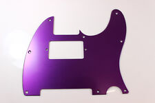 Purple Anodized Aluminum Humbucking Tele Pickguard Fits Fender Telecaster