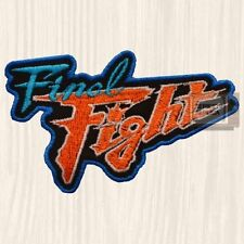 Final Fight Logo Embroidered Big Patch Haggar Cody Guy Capcom Street Fighter