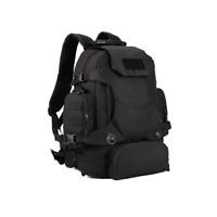 40L Waterproof Tactical Military MOLLE Assault Backpack Pack Large Bag Rucksack