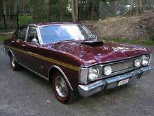 XW Ford Fairmont Factory Vintage Burgundy V8 XY GT Falcon Suit XR XA Torana