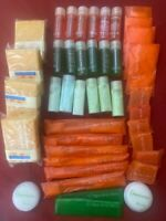 LOT 42 Hotel Travel Camping Sample Size Toiletries Shampoo Soap Lotion & More