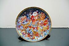 A Pepsi Cola Christmas Franklin Mint Plate 1994 Bill Bell Limited Edition