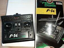 F 14 Robbe Futaba Sender 40 Mhz ungebraucht mit Antenne in Ovp.