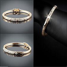Modeschmuck-Armbänder im Armreif-Stil mit Kristall-Hauptstein für Damen