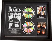 New The Beatles CD Memorabilia Framed