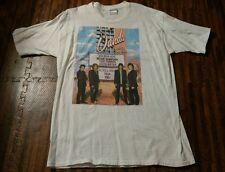 ---RARE! --Vintage BON JOVI Concert t-shirt One Wild Night 2001 White XL Cotton