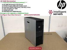 HP Z600 Workstation 2x Xeon X5650 2.66GHz 24GB RAM 1TB HDD 240GB SSD Quadro 2000