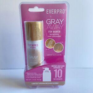 Everpro Beauty Gray Away Root Concealer Lightest Brown / Medium Blonde 1.5oz