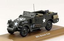 SANS chauffeur BOITE militaire SCOUT CAR dinky repro ref 673 n53