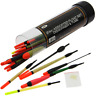 Float Set Mixed 24pc Carp Coarse Fishing with Rubbers & disgorger