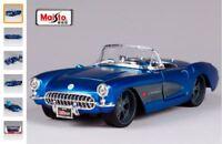CHEVROLET CORVETTE 1957 CABRIOLET 1:24 Scale Diecast Toy Car Model Miniature