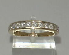 Gorgeous 18ct Gold 50pt Diamond Eternity Ring.  Goldmine Jewellers.