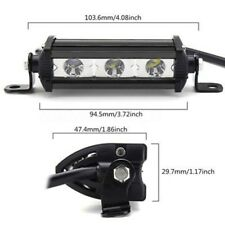 Black CREE LED Light Off road Flush Mount Work Lamp For Truck auto motorcycle 9W