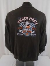 Walt Disney Wold Extra Extra Large Brown Mickey Mouse Jacket