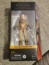"HASBRO STAR WARS BLACK SERIES 6"" KUIIL THE MANDALORIAN ACTION FIGURE IN HAND"