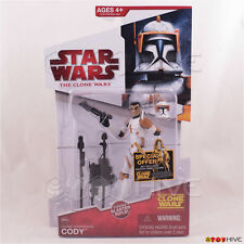 Star Wars Animated Clone Wars 2009 Commander Cody CW28 w/ special offer sticker