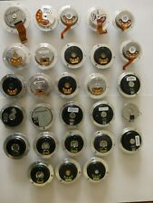 28 pieces of motors from the hard disk. Different types.