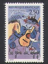 FRANCE 1992 GYPSIES/Cheval/guitare/musique/DANSEUSE/YEUX/ANIMATION/transport 1 V n35399