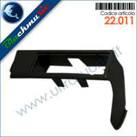 Mascherina supporto autoradio ISO Fiat Panda (141 1984-2003) colore nero