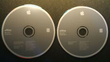Apple Macintosh eMac 2 Disk Set, OS X 10.2.4 Software Install CDs, Appear New