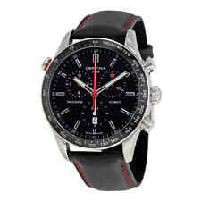 Certina DS-2 Flyback Chronograph Black Dial Men's Watch C024.618.16.051.00