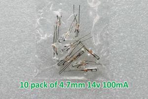 (10 qty) 4.7mm 14v GM GMC Pontiac Buick Chevy Cluster Speedometer bulbs lamps
