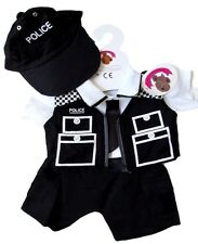 Teddy Bears Clothes fits Build a Bear Teddies Police Uniform Officer Cop Outfit