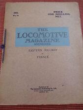 CATALOGUE - REVUE - TRAIN - LOCOMOTIVE ANNÉE 1911 ( ref 44 )