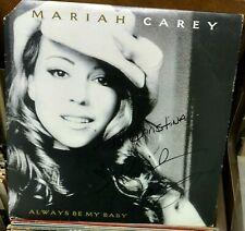 "MARIAH CAREY SIGNED AUTOGRAPHED 12"" VINYL LP ALWAYS BE MY BABY"