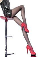 Collant voile noir femme-sexy fantaisie pailleté brillant 20 den FIORE T2 T3 T4