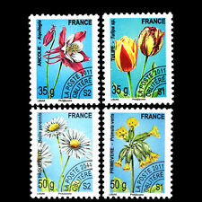 France 2011 - Flowers - Pre-Cancelled - Sc 4046/9 MNH