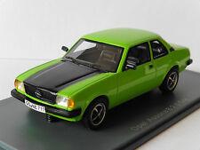 OPEL ASCONA B 2.0 SR 1980 GREEN BLACK NEO 43711 1/43 LEFT HAND DRIVE LHD GRUN