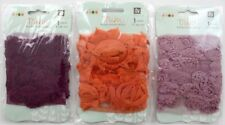 Prima Donna Downey Rose Trim Cheer Fabric - 3 Packs - Embellishment Lot