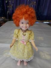 "Knickerbocker Annie Toy Doll 11"" 1982"