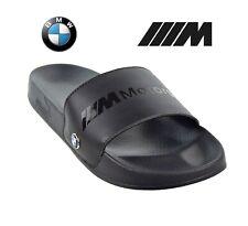 NEW MENS PUMA BMW M MOTORSPORT LEADCAT BLACK SLIDES SANDALS SIZE 11 M2 M3 M4 M5
