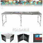 Portable Beer Table Folding Tennis Table Camping Wedding Party Patio Outdoor BBQ