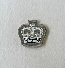 Staff Sergeant Crown Rank Badge, FAD & Barrack Dress Shirt, Stone Chevron, Army